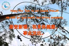 For All of our #Chinese Friends: 恭贺新禧,祝身体健康、事业发达。Happy New Year, we wish you good health and lasting prosperity! (Skywalker Adventure Builders) Tags: high ropes course zipline zipwire construction design klimpark klimbos hochseilgarten waldseilpark skywalker