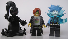 Minor update etc.. (Quickblade22) Tags: superheroes supervillains comics custom comicbook capemadness brickforge