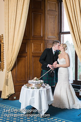 DalhousieCastle-18021755 (Lee Live: Photographer) Tags: bride cake ceremony chapel clarebaker cuttingofthecake dalhousiecastle grom kiss leelive ourdreamphotography owls rings rossmcgroarty wedding wwwourdreamphotographycom