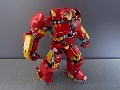 Hulkbuster (Max_Fuxler) Tags: lego hulkbuster legohulkbuster ironman mech battlesuit marvel avengers ageofultron afol moc legomoc legophotography