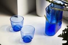 RidgeKitchen-set-cobalt-lifestyle-01 (Charles & Marie) Tags: glasses areaware glassware ridgekitchen carafe visibility pitcher