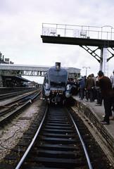 img927 (foundin_a_attic) Tags: 4498 a4 loco locomotive nigel gresley hereford railway station steam train