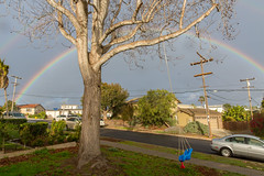 Good Morning, San Diego (Jill Clardy) Tags: sandiego house exterior 201802234b4a8580 rainbow sky clouds cloudy rain shower storm stormy san diego point loma 365the2018edition 3652018 day54365 23feb18
