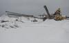 Gravel plant (AstridWestvang) Tags: gravel industry machines pile sandefjord snow vestfold