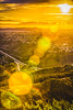 City of the Sun (muhammad_elarbi) Tags: sun sunrise sandiego city cityscape hdr green grass cars yellow bright colorful longexposure canon trees mountains haze morning people