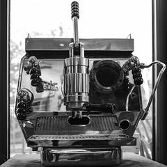 coffee power (Rainer ❏) Tags: espressomaschine unic chrom stillleben stillife baristotelescafé museumuntertage sw bn bw rainer❏