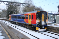 East Midlands Trains 153379 @ Kidsgrove (uksean13) Tags: 153379 eastmidlandstrains kidsgrove diesel transport train railway rail 760d canon efs1855mmf3556