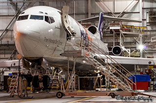 N203FE FedEx | Boeing 727-2S2F(A)(RE) | Memphis International Airport