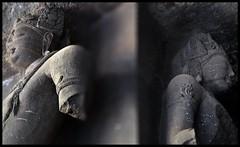Dvarapalas @ Elephanta Caves (indianature13) Tags: elephantacaves elephanta is elephantaisland gharapuri gharapuriisland unescoworldheritagesite maharashtra mumbai indianature india indiatourism indiaheritage mtdc tourism sightseeing bombay bombayharbour ancientheritage heritage rockcutcaves shivatemple shiva siva lordshiva ancientrockcuthindutemple 2018 february history culture society life carving stonecarving art sculpture worldheritagesite