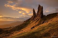 Old Man at sunrise (Piotr_ewaipiotr_pl) Tags: ifttt 500px landscape sunrise clouds mountain valley hill scenery ridge scenic hillside peak hilltop range rolling scotland skye old man storr