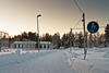 Snowy Path to the Town (k009034) Tags: 500px trees frozen forest winter path building bicycle snow fence town pedestrian ice frost snowing rural sign detail lamp post snowdrift footpath traffic no people coldness cold temperature finland copy space oulainen teamcanon