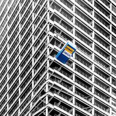 CantiDeck (DobingDesign) Tags: architecture construction london londonarchitecture grid geometric conquip loadingplatform shelf highrise distortion buildingequipment skyscraper window lines text building towerblock contrast underpressure bearingtheload
