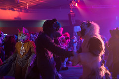 DSC01842 (Kory / Leo Nardo) Tags: furry fursuit suiting dance party dj con convention further confusion fc san jose marriott center 2018 fc2018 pupleo leo kory fur costume costuming cosplay animals