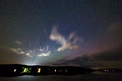 Meteor Strike? (matthewkaz) Tags: justkidding lake limelake reflection reflections night stars clouds sky astrophotography northernlights aurora auroraborealis leelanau cedar maplecity michigan summer puremichigan 2017