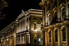St Petersbourg la nuit (TravelerRauni) Tags: stpetersburg europe russie continentsetpays ru rus russia