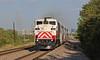 Outbound Rush train (GLC 392) Tags: trinity railway express commuter passenger train f59ph trwx dallas tx texas railroad 123 evening rush