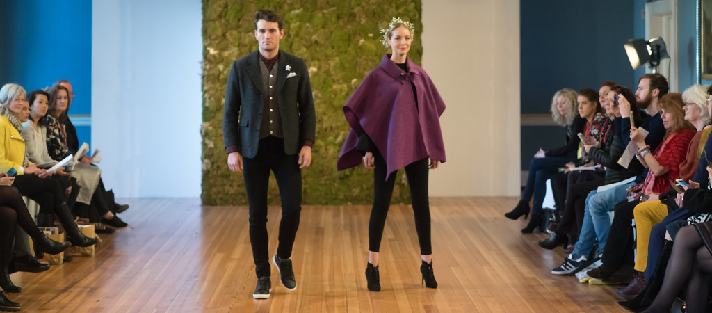 MADE-Slow PRESENTATION OF QUALITY IRISH FASHION DESIGN - STUDIO DONEGAL [FASHION SHOW AT THE RDS JANUARY 2018]-136240