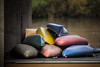 pile of boats (dotmatchbox) Tags: boat boot kanu water river wasser fluss bunt colorful colourful