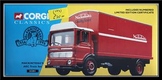 Box Art: Corgi Classics 21201 Mackintosh's AEC Truck Set IMG_2135