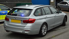 Durham Constabulary | BMW 330D | Roads Policing Unit | **65 *** (Chris' 999 Pics) Tags: durham constabulary bmw 330d 3 series unmarked rpu roads policing unit traffic anpr intercept interceptor police car covert plain undercover 2015
