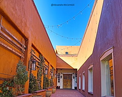 Long Road Ahead (Shadow _ Traveler) Tags: santafenewmexico streetphotography santafe newmexico travel travelphotography alleyway architecturaldesign architecture architecturephotography landscape landscapephotography buildinginalleyway building structure placesofinterest plantphotography