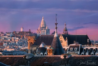 Église Saint-Eustache & Basilique du Sacré-coeur de Montmartre, Paris