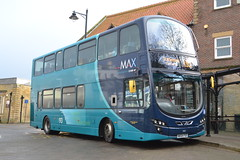 Arriva North East 7401 NK64FSF (Will Swain) Tags: whitby station 11th november 2017 bus buses transport travel uk britain vehicle vehicles county country england english north east arriva 7401 nk64fsf