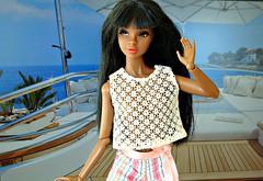 Hello! (Deejay Bafaroy) Tags: fashion royalty fr integrity toys it doll puppe barbie vintage vinyl reese dynamitegirl dynamitegirls dg portrait porträt black schwarz