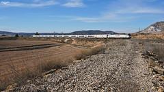 Torre del Oro en La Encina (lagunadani) Tags: talgo talgovi torredeloro laencina tren paisaje 252 locomotora renfe ferrocarril