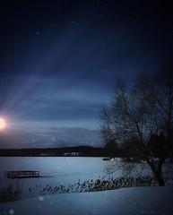 ~ bluish ~ Lower Vättern, Skinnskatteberg, Sweden (Tankartartid) Tags: himmel sky sjö lake frusetvatten frozenwater landskap landscape vinter winter snow tree snö träd blått blå bluish blue norden nordic västmanland skinnskatteberg europe sverige sweden instagram ifttt