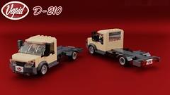 Vapid D-210 [still WIP] (initial_dvache) Tags: ldd lego blender mecabricks car 6wide truck