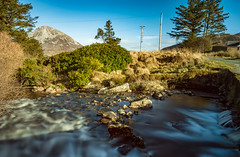 Glenthornan River (ClassicAngles) Tags: 2018 bridge ireland water splash dunlewy mounterrigal flowing trees gcc splashes mistywaters sigma10to20mm nikond3400 lazyshutters wideangle classicangles donegal bushes mountains telegraphpoles longexposure bluesky river nikon loughswilly sky errigal slow flickrtravelaward flickr rocky longexpo countydonegal ie