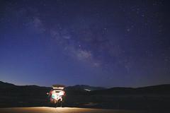 Half the Park (xc_m) Tags: nationalpark deathvalley milkyway noflash canon60d sigma1750f28 nightshots nightsky stars dawn darksky california