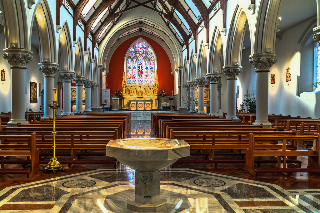 INTERIOR OF HOLY CROSS CHURCH [DUNDRUM JANUARY 2018]-135237
