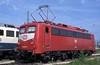 139 563  Ingolstadt  02.08.93 (w. + h. brutzer) Tags: ingolstadt 139 eisenbahn eisenbahnen train trains railway deutschland germany elok eloks lokomotive locomotive zug e40 db webru analog nikon