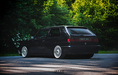 VW GOLF MK2 RALLYE (JAYJOE.MEDIA) Tags: vw golf mk2 rallye volkswagen low lower lowered lowlife stance stanced bagged airride static slammed wheelwhore fitment bbs bbswheels
