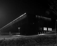 Katowice, Poland. (wojszyca) Tags: mamiya rz67 6x7 120 mediumformat 75mm shift fuji neopan acros 100 xtol stock epson v800 night longexposure architecture building mck katowice
