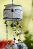 Country style wind chime (photo 1) (maytag97) Tags: maytag97 nikon d750 tamron 150600 150 600 outdoor windchime wind chime tea pot kettle cup chain bead bell outside decoration decorative rustic chipped paint metal