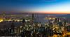 Hong Kong Blue Hour (Pexpix) Tags: lights presunrise bluehour skyline star water reflections sky city boats longexposure harbour skyscraper hongkong hongkongisland hk 攝影發燒友
