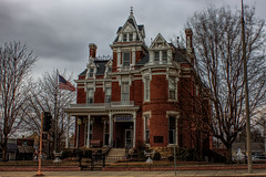 McLeansboro, IL 03 (Christopher Elliot Taylor) Tags: 552 architecture building library tonemapping canont1i affinityphoto outdoors travel tourism places neighborhoods southernillinois illinois