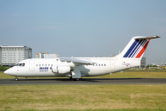 F-GOMA British Aerospace 146-200QC Air Jet/Air France (pslg05896) Tags: fgoma bae146 airjet airfrance cdg lfpg paris roissy