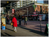 Down at the Market (prima seadiva) Tags: market pikeplace firstave red jacket sunny pikestreet
