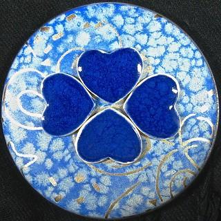 4 blue hearts #MyHeartWillGoOn