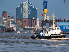wilhemine (seidchr) Tags: city sea water boat river travel nautical urban architecture building ship port pier industry germany hamburg ferry vehicle outdoors waterfront harbor deutschland tugboat watercraft no person transportation system wilhelmine