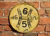 Hydrant Marker, Polebarn Road, Trowbridge, Wiltshire 16 February 2018 (Cold War Warrior) Tags: hydrant iron trowbridge wiltshire