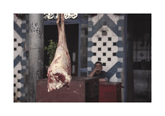 The butcher.  ( Cairo ) 2002 by José Luis Cosme Giral -