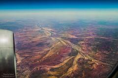 Above the arteries (Rakuli) Tags: ifttt 500px australia desert plane flight clouds horizon northern territory
