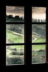 Window on Tuscany hills (Ivan Bianchi) Tags: tuscany finestra colline siena