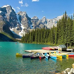 #A60 Moraine Lake, Alberta Canada (briolette001) Tags: morainelake banff banffnationalpark alberta albertacanada canada canadarockymountains