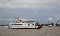 Meanwhile on the Mississippi (Maurits van den Toorn) Tags: schip ship river fluss rivier mississippi neworleans usa